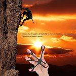 3Pcs Renforts de Main, Silicone Exerciseur de Doigt Poigne/Entraîneur de Grip Force/Hand Finger Bandes D'extenseur pour Soulager la Douleur de Poignet, Tunnel Carpien, Arthrite Guitare et Escalade de la marque MansWill image 4 produit