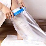 Aozzy Protège Plâtre étanche et protecteur de bandage utilisé pour tout en douche/baignade (Jambe courte adulte XL) de la marque Aozzy image 4 produit