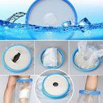 Aozzy Protège Plâtre étanche et protecteur de bandage utilisé pour tout en douche/baignade (Jambe Long adulte) de la marque Aozzy image 3 produit