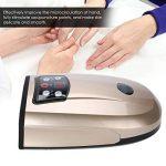 Appareil de massage des mains à la paume avec chaleur, chauffage électrique, massage par acupression à pression d'air pour soulager les doigts, sensation de froideur et engourdissement(EU- Plug) de la marque Semme image 2 produit