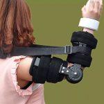 Attache fixe de joint de coude réglable - correction d'activité d'orthosis Limitation de bras Protecteur de fracture, réadaptation Stretching formation Orthèse corrective de la marque GPFDM image 1 produit