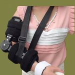 Attache fixe de joint de coude réglable - correction d'activité d'orthosis Limitation de bras Protecteur de fracture, réadaptation Stretching formation Orthèse corrective de la marque GPFDM image 4 produit