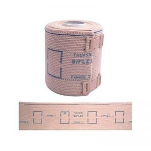 BANDE ELASTIQUE DE COMPRESSION 8cm X 3m de la marque Thuasne image 0 produit