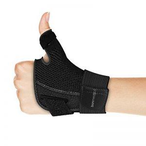 Bonmedico® Forte – Orthèse de pouce souple avec attelle, support pour protection de l'articulation métacarpophalangienne et de la racine du pouce, de la marque Bonmedico image 0 produit