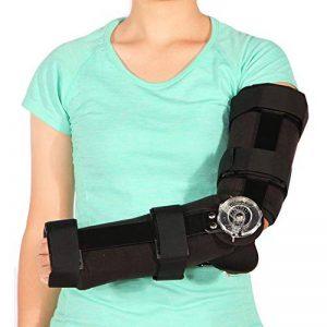 Candyana Soutien du coude Brace Fracture du coude Rééducation Entorse Coude Protecteur des blessures du Ligament de la marque Candyana image 0 produit