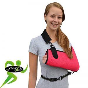 Écharpe bras/épaule - Poche profonde, Soutien Réhabilitation Ultra Confortable. ANTI-TRANSPIRANT, HYPOALLERGÉNIQUE. 4DflexiSPORT de la marque 4DflexiSPORT image 0 produit