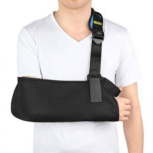 Écharpe de Bras Respirant Maintien du Bras pour Immobilisation d'épaule, Support de Bras pour Bras cassé, Poignet, Coude, Blessure à l'épaule, pour les femmes et les hommes, bras droit ou gauche de la marque Yosoo Health Gear image 0 produit