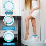 Couvre-cheville pour adulte pour la douche, bandage étanche, protection contre les pieds cassés, récupération de la chirurgie lors du bain pour femme et homme de la marque PINCOU image 2 produit
