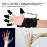 Dispositif d'entraînement des Doigt réglable Poignet - pour réparation de Tendon apoplexie hémiplégie Patients, Exercice avec les doigts et rééducation, Convient pour les hommes et les femmes de la marque TMISHION image 2 produit