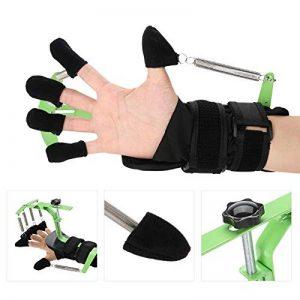 Dispositif d'entraînement des Doigt réglable Poignet - pour réparation de Tendon apoplexie hémiplégie Patients, Exercice avec les doigts et rééducation, Convient pour les hommes et les femmes de la marque TMISHION image 0 produit
