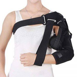 DYHQQ Attelle de stabilisation de l'épaule, Support pour Bras articulé, pour récupération de Luxation par hémiplégie avec Luxation de l'articulation de l'épaule, Taille Libre de la marque DYHQQ image 0 produit