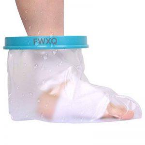 FWXQ Housse de protection pour pansements et plâtres- Protège Plâtre étanche et protecteur de bandage utilisé pour pansements et plâtres Adulte tout en douche/baignade (pied adulte) de la marque FWXQ image 0 produit