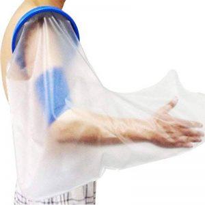 GLJY Couvercle de Fonte pour Bras Adulte, Bras Protecteur, Protecteur de Bandage en plâtre, étanche, avec Protection de Joint de Conduite/pour Douche, réutilisable (Bras Complet Adulte) de la marque GLJY image 0 produit