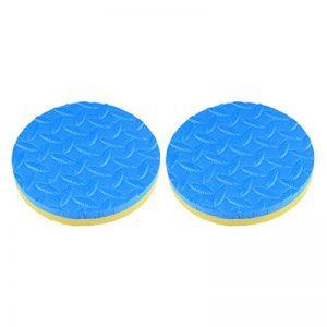 Healifty coussin de genou 2pcs tapis supporté par planche yoga tapis de genou genouillère coudière garde disque tapis de sport pour la forme physique (jaune et bleu à deux faces) de la marque Healifty image 0 produit