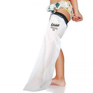 Housse de protection imperméable LimbO Jambe Enfant pour les plâtres (FL45 – Jambe 4-5 ans) de la marque LimbO-Waterproof-Protectors image 0 produit