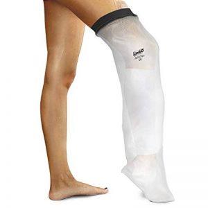 Housse de protection imperméable LimbO pour les plâtres et pansements. Demi jambe (M76S : mesure au-dessus du genou 39-54 cm. (> 6'0)) de la marque LimbO-Waterproof-Protectors image 0 produit