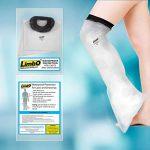 Housse de protection imperméable LimbO pour les plâtres et pansements. Demi jambe (M76S : mesure au-dessus du genou 39-54 cm. (> 6'0)) de la marque LimbO-Waterproof-Protectors image 4 produit
