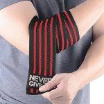 HYFAN Bandes de Coudes élastiques Professionnelles pour la Musculation, la Musculation, la Gym, la Remise en Forme de la marque HYFAN image 3 produit