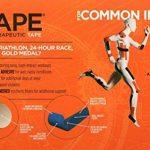 KT TAPE PRO bande élastique synthétique de kinésiologie Bande de sport–Soulagement de la douleur et support–100% étanche–Rouleau de 4.9m de la marque KT-Tape image 3 produit