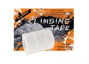 Mantle Espaliers de Gymnastique Escalade 200203 Tape Lot de 3 Taille m (Blanc) de la marque Mantle image 0 produit