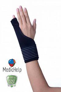 Medichelp Déclenchent doigt et de la main d'immobilisation Attelle pour poignet et pouce, Palm de la marque MedicHelp image 0 produit