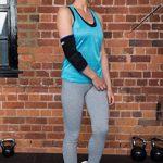 MEGLIO Coudière légère respirante en néoprène - Soulage la douleur, Armature métallique – Pratique du sport, Augmente la récupération après blessure - Taille Unique de la marque MEGLIO image 3 produit