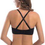 MELENECA Femme Minimiseur Soutien-Gorge sans Bretelles Bandeau Emboîtant Grande Taille de la marque MELENECA image 2 produit