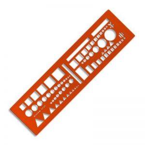 Minerva OTAN46 Trace symbole tactique Orange de la marque MINERVA image 0 produit