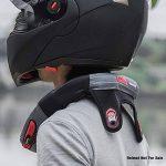 Minerve Cervicale Moto, Collier Cervical Protection Réduire la Fatigue Neck Brace Support pour Moto Motocross Quad Accessoire de la marque katiway image 2 produit