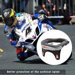 Minerve Cervicale Moto, Collier Cervical Protection Réduire la Fatigue Neck Brace Support pour Moto Motocross Quad Accessoire de la marque katiway image 4 produit