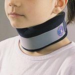 Ortel C1Junior–Light Collier cervical pour enfant avec fermeture Velcro réglable et amovible rigide renforcée. Taille unique. de la marque Ortel C1 image 2 produit