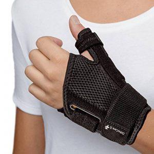 OrthoCare SStabilisateur pour le pouceTaille uniquePour main gauche ou droiteProtège les pouces lors d'activités quotidiennes et sportivespour éviter les blessures de la marque OrthoCare S. image 0 produit