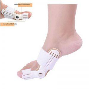 Orthèse hallux valgus orthèse pouce valgus orthèse de pied blanc (BLANC) de la marque ZSZBACE image 0 produit