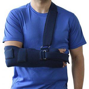 ORTONES | Écharpe de bras et d'immobilisation épaule (Taille unique) bleue. de la marque ORTONES image 0 produit
