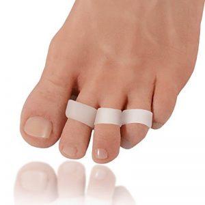 Paire de coussinets en gel pour le traitement des orteils en griffe Dr. Frederick's Original - Coussins séparateurs en gel pour éviter le chevauchement des orteils - Soulagement des pieds de la marque Dr-Fredericks-Original image 0 produit