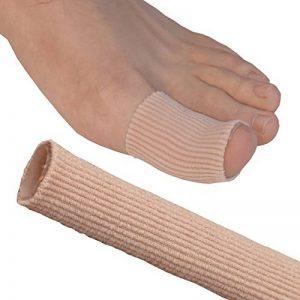 Pansement en tube à découper pour pieds et mains Medipaq® GEL - Soulage la douleur des ampoules, des cornes, des calos et d'autres affections aux doigts et aux orteils de la marque Medipaq image 0 produit