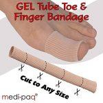 Pansement en tube à découper pour pieds et mains Medipaq® GEL - Soulage la douleur des ampoules, des cornes, des calos et d'autres affections aux doigts et aux orteils de la marque Medipaq image 1 produit