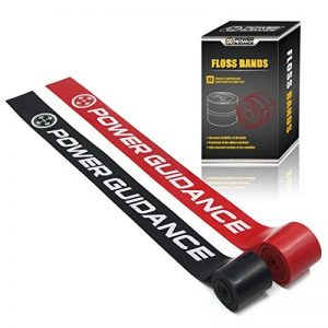POWER GUIDANCE Floss Bands (Pack 2) Bande d'activation de la circulation bande de compression et de résistance pour le renforcement des muscles et des articulations dans différentes force de la marque POWER-GUIDANCE image 0 produit