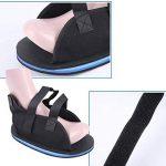 Protection des orteils, Chaussures en plâtre, Chaussures en plâtre, Fracture du pied, Protection postopératoire, Chaussures, Rééducation, Genou, Jarret, Taille M, 1 pièce (Color : -, Size : -) de la marque AILIENT image 1 produit