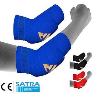 RDX Boxe Soutien Coude MMA Coudière Tendinite Musculation Protection Sport Kontact de la marque RDX image 0 produit