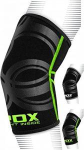 RDX Néoprène MMA Soutien Coude Coudière Entraînement Protection Sport Elbow Bandage Fitness (Le Paquet Contient Une Seule Pièce) de la marque RDX image 0 produit
