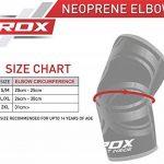 RDX Néoprène MMA Soutien Coude Coudière Entraînement Protection Sport Elbow Bandage Fitness (Le Paquet Contient Une Seule Pièce) de la marque RDX image 3 produit