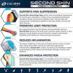 Second Skin by Calibre Fitness - Bande de kinésiologie - Maintien articulaire longue durée de qualité médicale développé par des scientifiques - Performances améliorées et douleurs soulagées de la marque Calibre-Fitness image 3 produit
