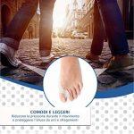 Séparateur et correcteur d'orteils de 2egénération, orthèse pour hallux valgus en silicone souple, protection contre la douleur et redressement de doigts en maillet pour homme et femme de la marque Take-Inspire image 3 produit