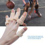Sumifun Attelle de doigt, Attelle Mousse Doublé, Malléable Métallique Attelle to Aligné doigts Splint Brace moyen doigt Wrap Fasteners Tissu élastique pour les doigts Trigger doigts de la marque Sumifun image 4 produit