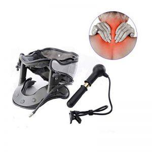 WANGXN Collier Cervical Collier de Traction pneumatique Disque Hernie Arthrose Attelle pour vertèbres Soulagement de la Douleur au Cou de la marque WANGXN image 0 produit