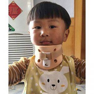 Xgxyklo Orthèse cervicale de Soutien Cervical de Collier Cervical de Soutien de Cou Respirable d'orthèse d'accolades, Adulte, Posture cervicale d'enfant,Child,L de la marque Xgxyklo image 0 produit