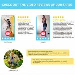 YukiKnows® Kinesiology Tape Extreme - Shiny Extra Sticky Waterproof Physiotherapy Muscle Support for Sport, Pregnancy and Orthopedic Rehabilitation, Hypoallergenic with Medical Glue, 5cm x 5m Roll de la marque YukiKnows image 4 produit