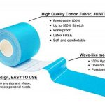 YukiKnows® Kinesiology Tape Extreme - Shiny Extra Sticky Waterproof Physiotherapy Muscle Support for Sport, Pregnancy and Orthopedic Rehabilitation, Hypoallergenic with Medical Glue, 5cm x 5m Roll de la marque YukiKnows image 2 produit